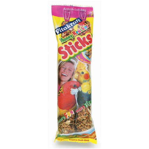 Kracker Honey Stick For Cockatiels