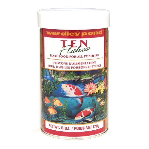 Ten Pond Flakes Pond Fish Food 6 Oz.