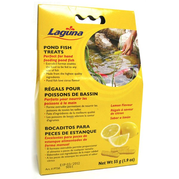 Laguna Pond Fish Treats / Flavor (Lemon) Best Price
