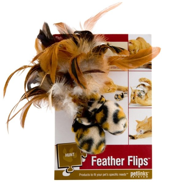 Feather Flips Cat Toy Best Price