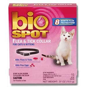 BioSpot Break Away Flea and Tick Collar for Cats Best Price
