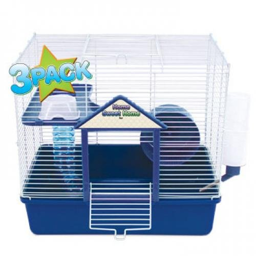 2-Level Hamster Starter Kit with Cage (Case of 3) Best Price