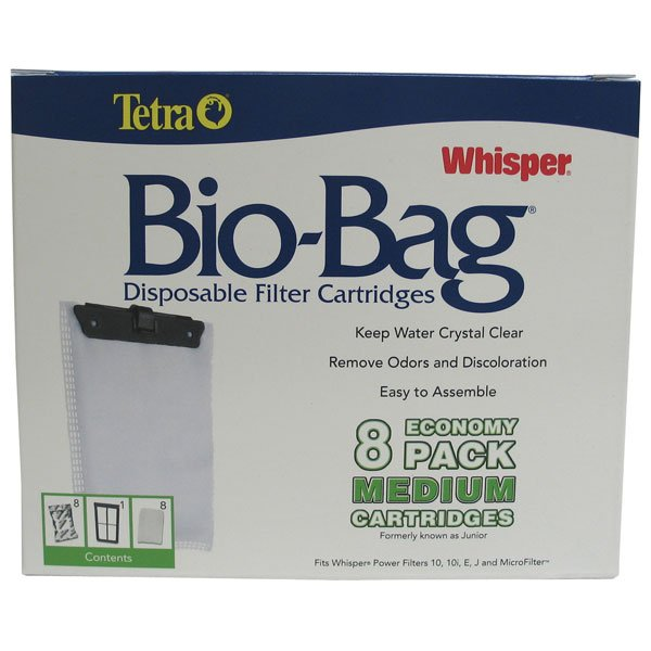 Whisper Bio Bag Cartridges / / Medium/8pk/rta