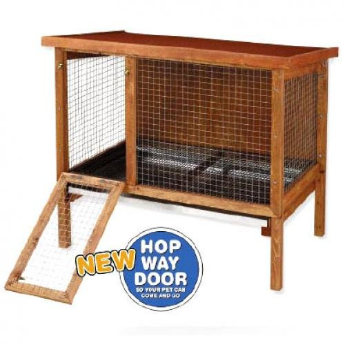 Large Rabbitat Wooden Rabbit Hutch Best Price