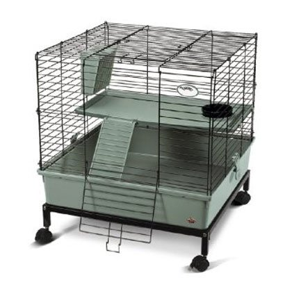 My Deluxe Home 2-level Cage with Stand for Small Pets - 2 ft. X 2 ft. Best Price