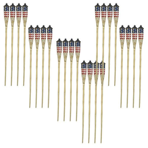 Stars And Stripes Bamboo Torch (Case of 24) Best Price