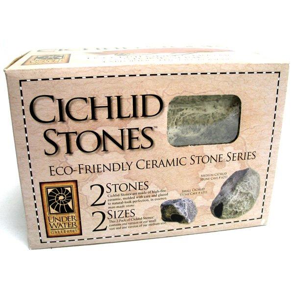 Cichlid Stone Aquarium Decor 2 Pk.