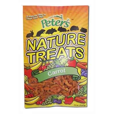 Peters Nature Treats Carrot Pellets Small Animal Treats - 2.5 oz. Best Price
