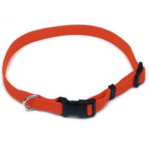 Adjustable Dog Collar / Size (1 x 18-26 in. / Orange) Best Price