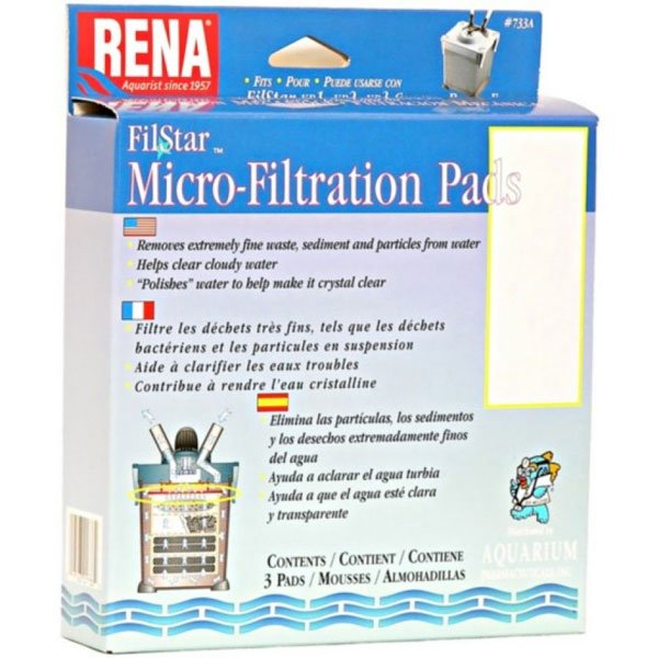 Rena Filstar Micro Filtration Pads 3 Pack