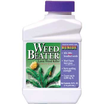 Weed Beater Lawn Spot Weed Killer Concentrate / Size (1 pint Conc.) Best Price