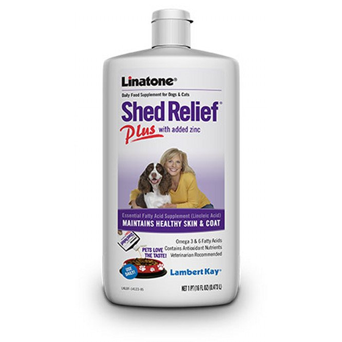 Linatone Shed Relief Plus / Size 16 Oz.