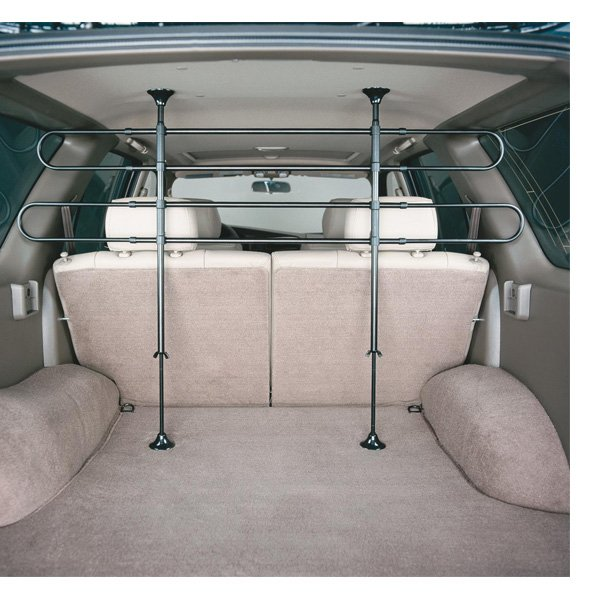 4 Bar Tubular Vehicle Barrier For Pets 34 65w 30 46h