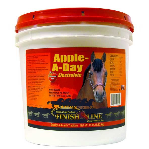 Apple A Day Electrolyte for Horses / Size (15 lbs.) Best Price
