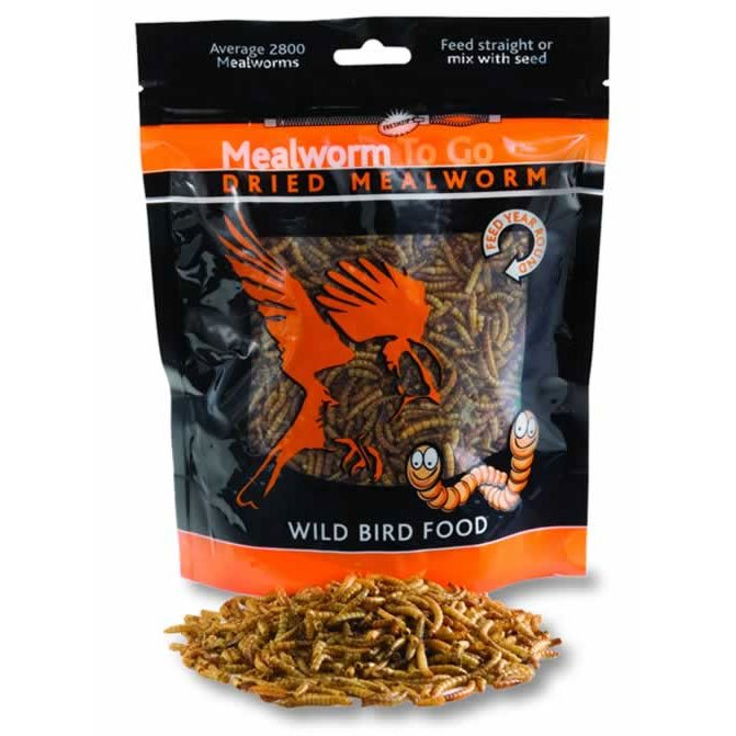 Mealworm To Go Wild Bird Food / Size 3.52 Oz.