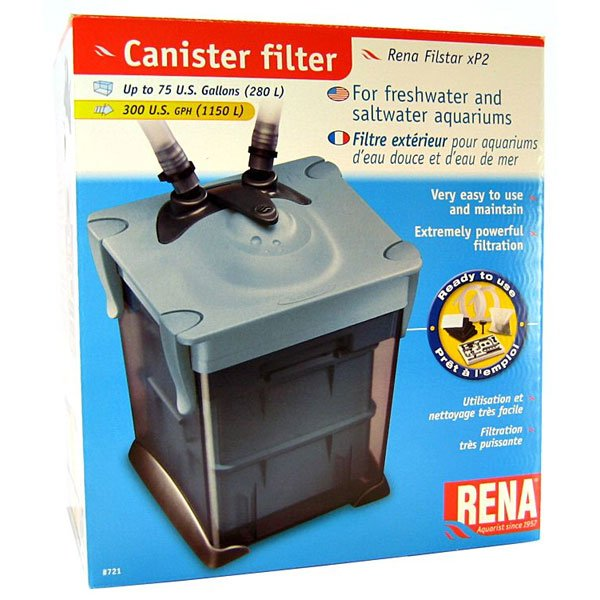 Filstar Xp2 Canister Power Aquarium Filter 75 Gallon