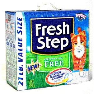 Fresh Step Perfume and Dye Free Litter 20 lbs Best Price