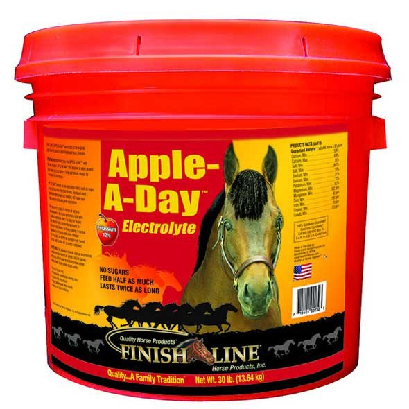 Apple A Day Electrolyte for Horses / Size (30 lbs.) Best Price