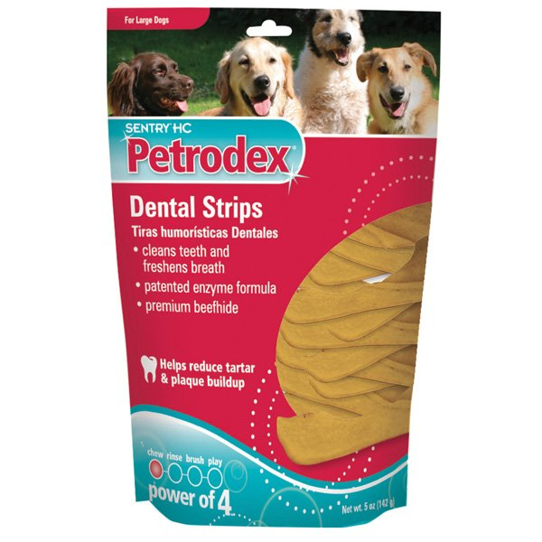 Petrodex Dental Chews And Strips / Size 5 Ounces