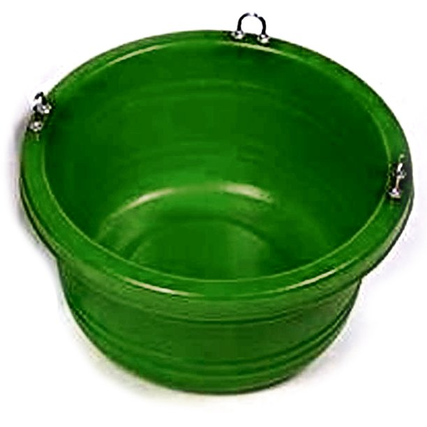 Horse Feed Tub - 30 quart / Color (Green) Best Price