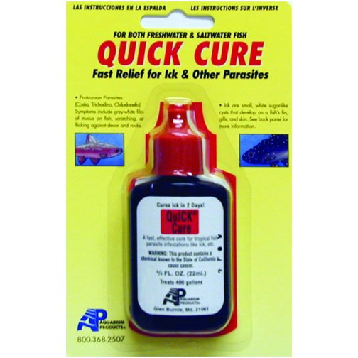 Quick Cure For Ick 3/4 Oz.