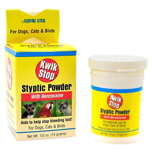 Gimborn Kwik Stop Styptic Powder - .5 oz. Best Price