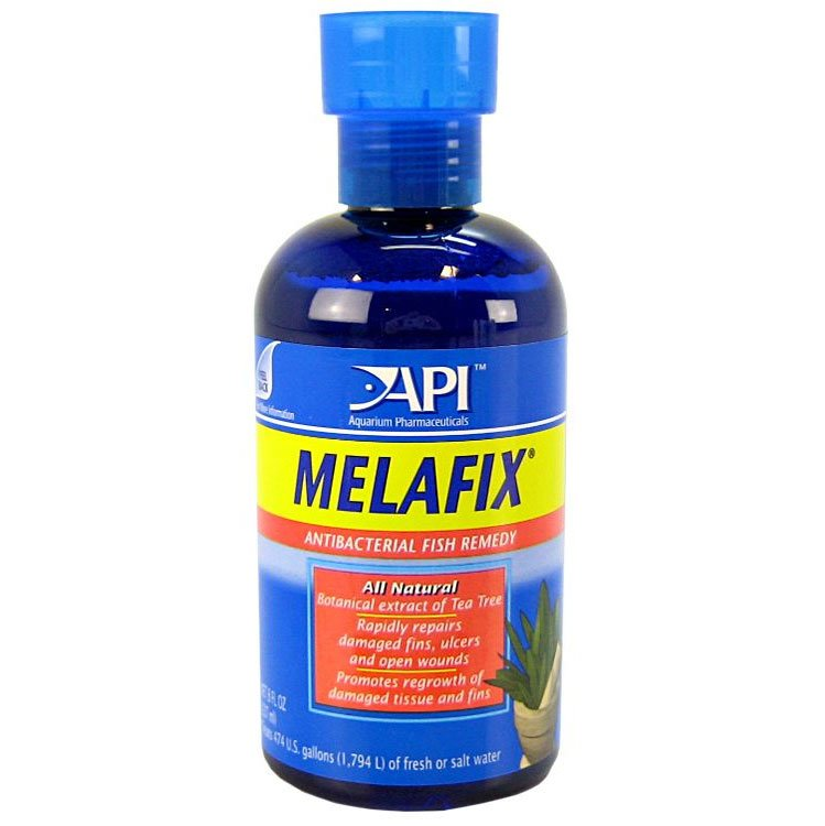 Melafix Antibacterial Fish Remedy / Size 8 Ounces