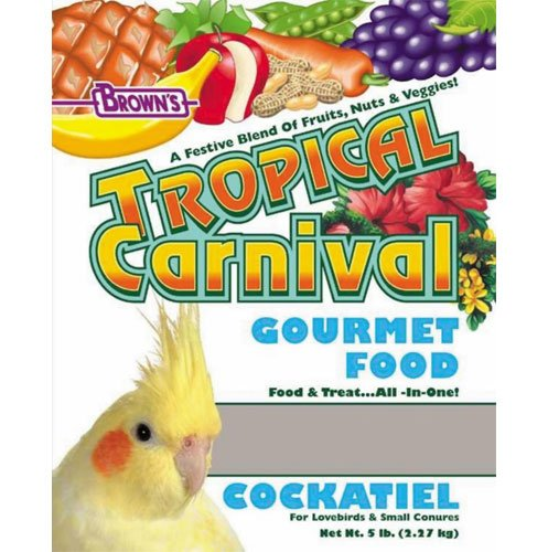Tropical Carnival Cockatiel Food - 5 lbs Best Price