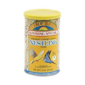 Parakeet  Finch  and Canary Nestling Food - 5 oz.