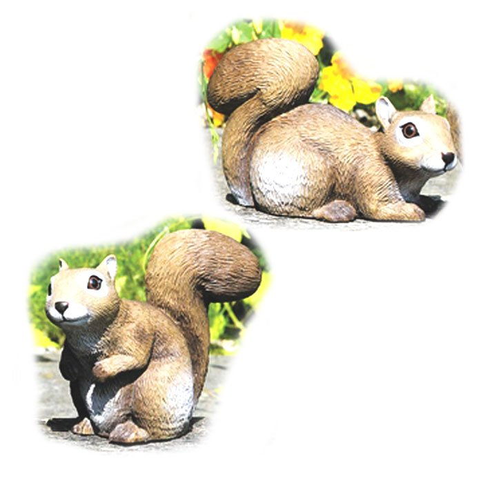 Squirrel Baby Lawn Ornament Best Price