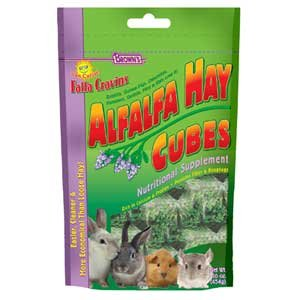 Falfa Cravins Alfafa Hay Cubes Small Animal Food - 16 oz. Best Price
