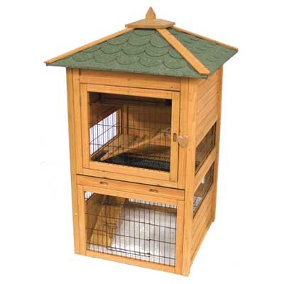 Premium Plus Bunny Cottage Rabbit Hutch Best Price