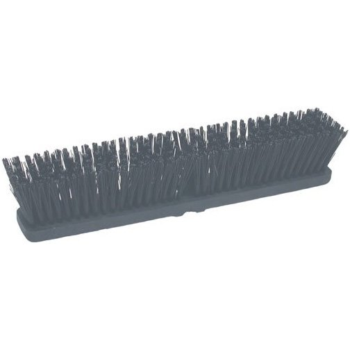 Hard Poly Push Broom Head - 18 in. Best Price
