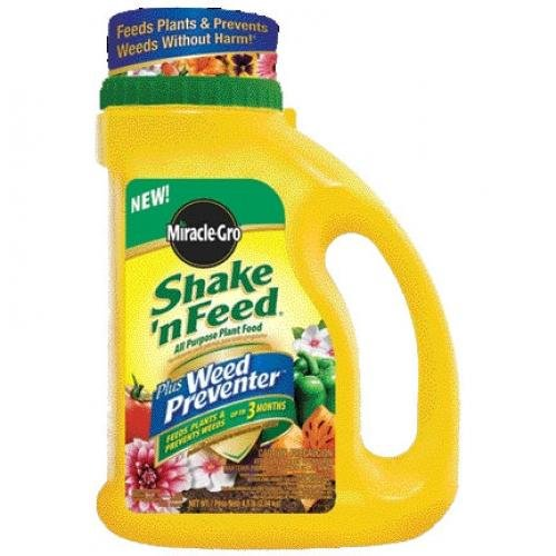 MiracleGro Shake N Feed Weed Preventer 4.5 lbs Best Price