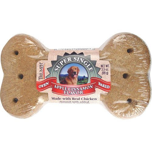 Apple Cinnamon Giant Dog Biscuit Case Of 30