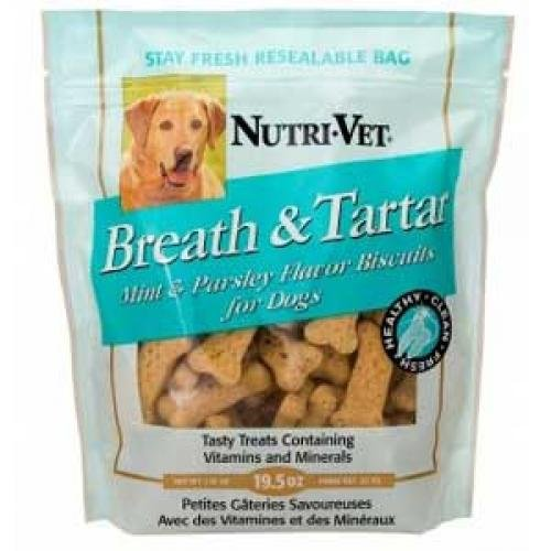 Breath and Tartar Medium Dog Biscuits - 19.5 oz. Best Price