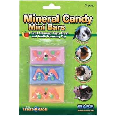 Mineral Candy Mini Bars for Small Pets - 4 X .5 X 7.25 in. Best Price