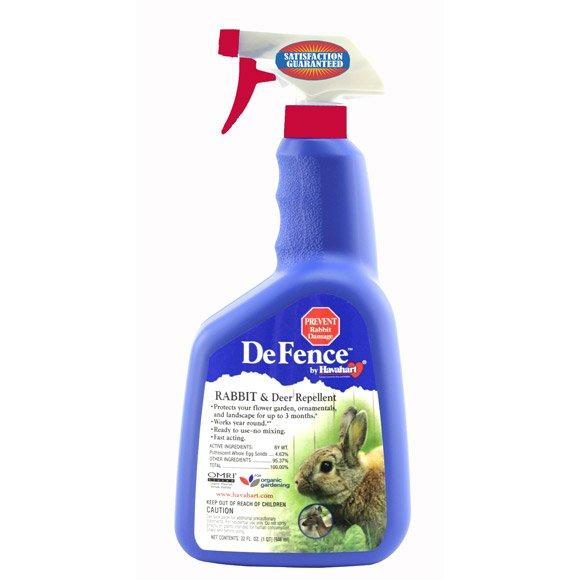 DeFence Rabbit and Deer Repellent  RTU Spray 32 oz Best Price