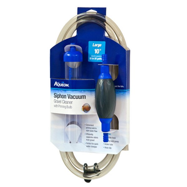 Aqueon Siphon Vacuum with Bulb / 10 in
