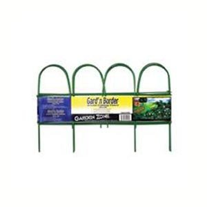Round Folding Fence Border 10 ft. x 10 in. / Color (Green) Best Price