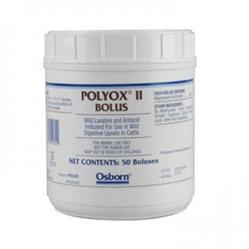 Polyox 2 Bolus for Cattle 50 ct. Best Price