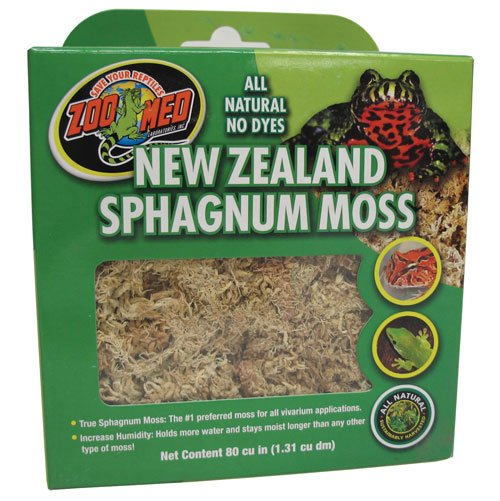 New Zealand Sphagnum Moss - 80 Cubic Inch Best Price