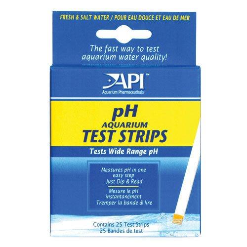 Ph Aquarium Test Strips 25 Pack