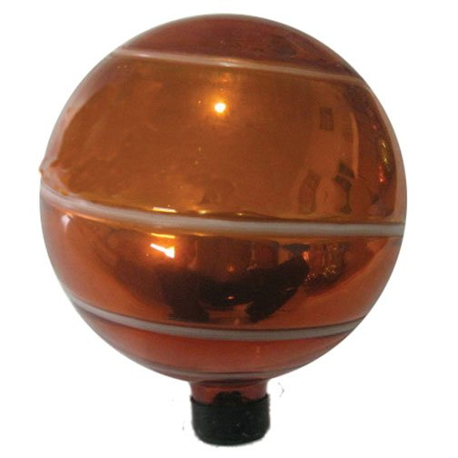 Glass Globe - Orange / 10 in. Best Price