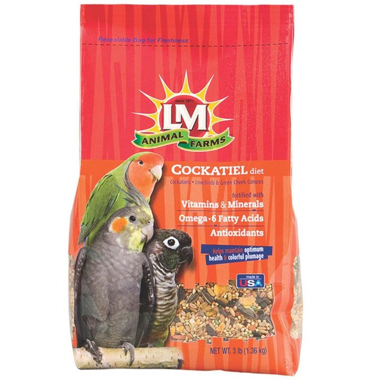 Cockatiel Diet - 20 lbs Best Price