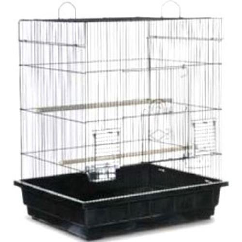 Square Roof Parakeet/Cockatiel Cage (Case of 2) Best Price
