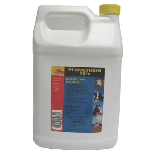 Permethrin 10% Premises Dog and Livestock Insecticide 1 gal. concentrate Best Price
