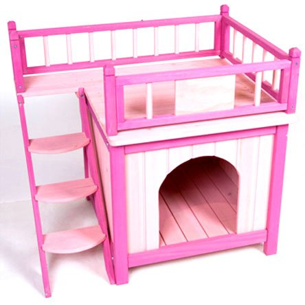 Princess Palace Dog House - Pink Picture