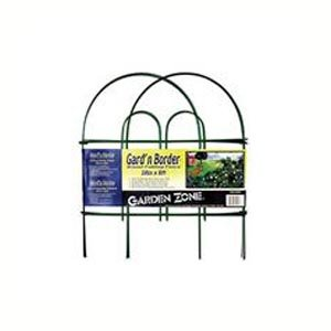 Round Folding Fence Border 18 in. x 8 ft. / Color (Green) Best Price