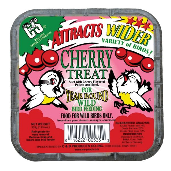 Cherry Suet Cake Treat - 11.75 oz. Best Price